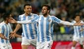 ملقا يفوز علي ريال سوسيداد بثنائية في الدوري الإسباني