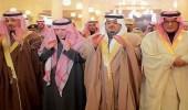 أمير الرياض وسمو نائبه يؤدون صلاة الميت على الأميرة نورة بنت سعود بن هذلول