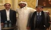 """نجل """" صالح """" يستقبل قيادات حزب المؤتمر في منزله لتقديم واجب العزاء"""