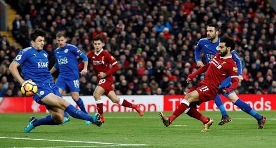 ليفربول يفوز بثنائية على ليستر سيتي في الدوري الإنجليزي