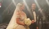 بالفيديو.. عروس تخطف الأنظار بفستانها الملكي