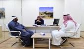 """بالصور.. أمانة الرياض تفتتح ثاني مراكز """" خدمة الضيف """" بمقرها الرئيسي"""