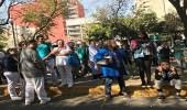 بالصور.. مواطنون يفترشون الخيام في الشوارع خوفا من الزلزال في المكسيك