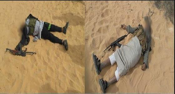 بالصور.. الجيش المصري يعلن القضاء على 8 تكفيريين في وسط سيناء