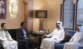 نجل الرئيس اليمني السابق يظهر لأول مرة برفقة محمد بن زايد