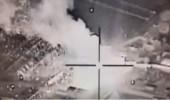 فيديو.. طائرات التحالف تدمر ورش تصنيع صواريخ باليستية في صعدة