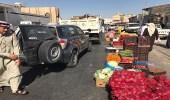 بالصور.. مصادرة 8 أطنان من الخضار والفاكهة بالأحساء