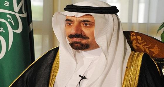"""صورة نادرة للملك فهد وهو يحمل أمير """" نجران """""""