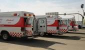 إصابة 7 أشخاص في حادث تصادم على طريق الهجرة خليص