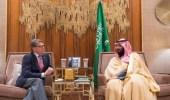 ولي العهد يجتمع مع وزير الطاقة الأمريكي لبحث مجالات الشراكة بين البلدين