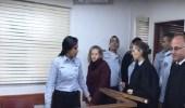بالفيديو.. أسيرة فلسطينية داخل محكمة إسرائيلية