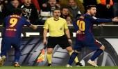 برشلونة يتعادل مع سلتا فيجو في الدوري الإسباني