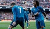 ريال مدريد يتخطى فالنسيا برباعية