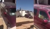بالفيديو.. فتاة تحتفل بخروج والدها من المستشفى بإطلاق أعيرة نارية
