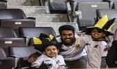 بالصور.. طفل من ذوي الهمم يحضر مباراة الاتحاد.. ووالده يفاجئ بردود جارحة