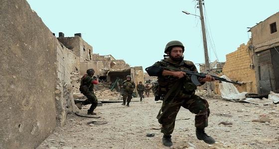 بالفيديو.. فرار ميليشيات الأسد أمام الجيش السوري الحر
