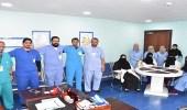 بالصور.. فريق طبي ينجح في استئصال 30 ورم ليفي من سيدة بمكة