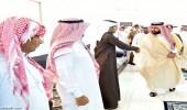 بالصور.. أمير جازان ينوب عن القيادة في عزاء ذوي شهداء الداير بني مالك