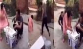 بالفيديو.. عقاب قاسي لشاب نفذ مقلبا مروعا في سيدة