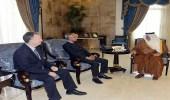 الأمير خالد الفيصل يستقبل القنصل العام الفرنسي