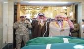 نائب أمير المدينة المنورة يؤدي صلاة الميت على الشهيد الرشيدي