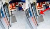 بالفيديو.. شبح فتاة يتجول داخل بنك ويختفي بسرعة