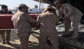 وصول جثمان الشهيد النقيب المهيدب إلي الرياض