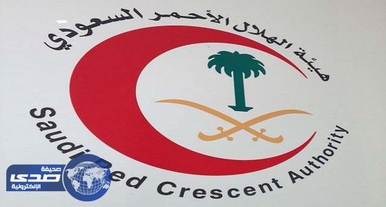 الهلال الأحمر بنجران يباشر 621 بلاغ خلال الشهر الماضي