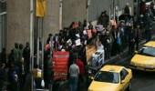 وقفة احتجاجية أمام البورصة الإيرانية اعتراضا على السياسات الاقتصادية