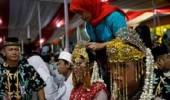 زواج جماعي في ليلة رأس السنة بإندونيسيا