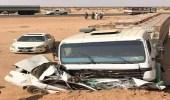 وفاة قائد مركبة إثر اصطدامه بشاحنة في الطائف