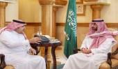 نائب أمير مكة يطلع على إنجازات فرع وزارة العمل بالمنطقة