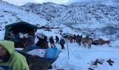 الثلوج تعيق حركة أهالي المغرب وتعزل بعض المناطق
