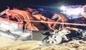 حادث مروري يؤدي لوفاة شقيقتين من أسرة واحدة بجازان