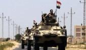 طائرة بدون طيار تقصف موقع أمني للجيش المصري بوسط سيناء