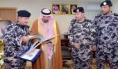أمير نجران يستعرض التقرير الإحصائي لقوة أمن المنشآت