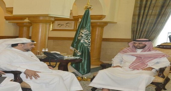 نائب أمير مكة يلتقي نائبي الغرفة التجارية الصناعية بجدة