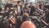 بالصور.. استقبال حافل بالمطار للاعبين المعارين إلى إسبانيا