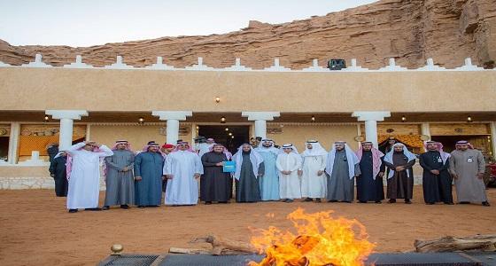 أمير القصيم يفتتح مشاريع بلدية بقيمة 58 مليون ريال