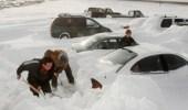 إنقاذ أمريكية احتجزتها الثلوج 3 أيام داخل سيارتها
