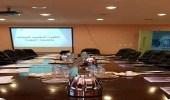 الكلية التقنية للبنات بالمدينة تستقبل وفدا من مركز سيدات الأعمال بالغرفة التجارية