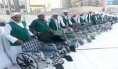 منع كبار السن من مزاولة مهنة دفع العربات بالمسجد الحرام