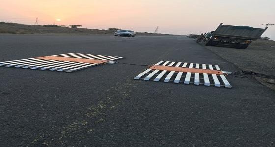 وزارة النقل تفاجئ سائقي الشحنات على طريق صبا والهروب