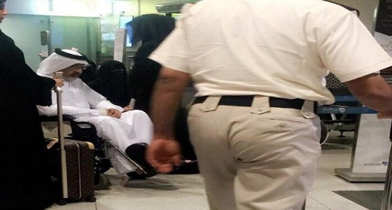 آخر صورة للشيخ عبدالله آل ثاني قبل مغادرة الإمارات