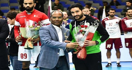 """"""" آل سالم """" و """" العلى """" الأفضل في بطولة آسيا لكرة اليد"""