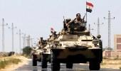 الجيش المصري يقتل 20 مسلحا في قصف جوي