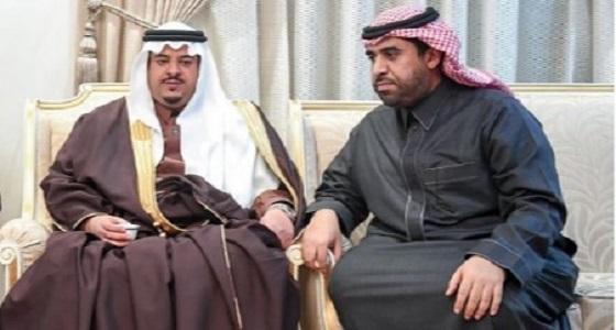 بالصور.. نائب أمير منطقة الرياض يعزي أسرة المقيرن