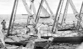 بالصور.. ميناء جدة قبل 64 عاما
