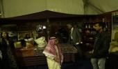 """لليوم الثاني على التوالي.. """" الأكلات الشعبية """" للمملكة تشهد توافد رواد القاهرة للكتاب"""
