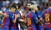 برشلونة يفوز على ألافيس بثنائية في الدوري الإسباني